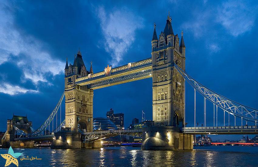 تاور بریج لندن - جاذبههای گردشگری انگلیس
