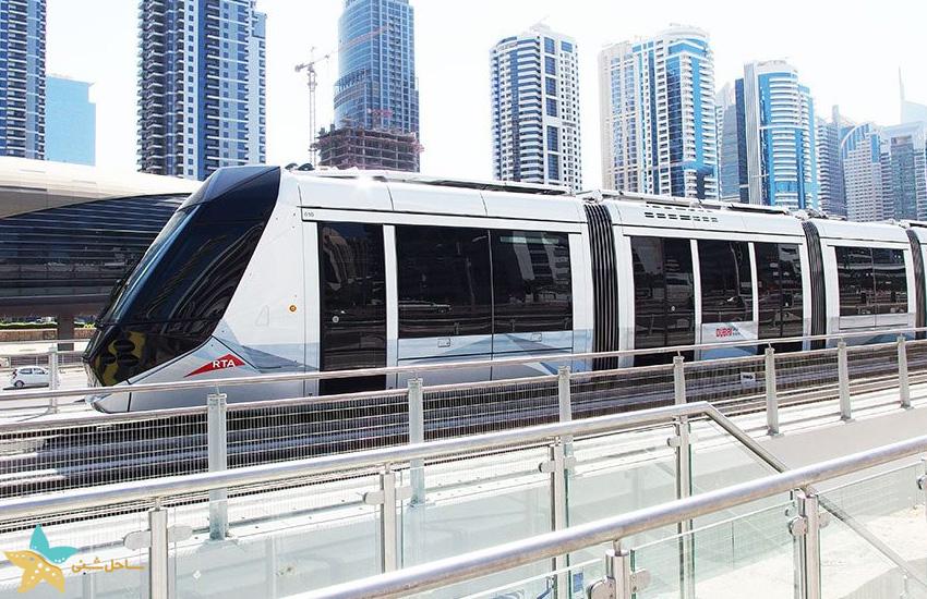 تراموا دبی | حمل و نقل عمومی در دبی | حمل و نقل در دبی