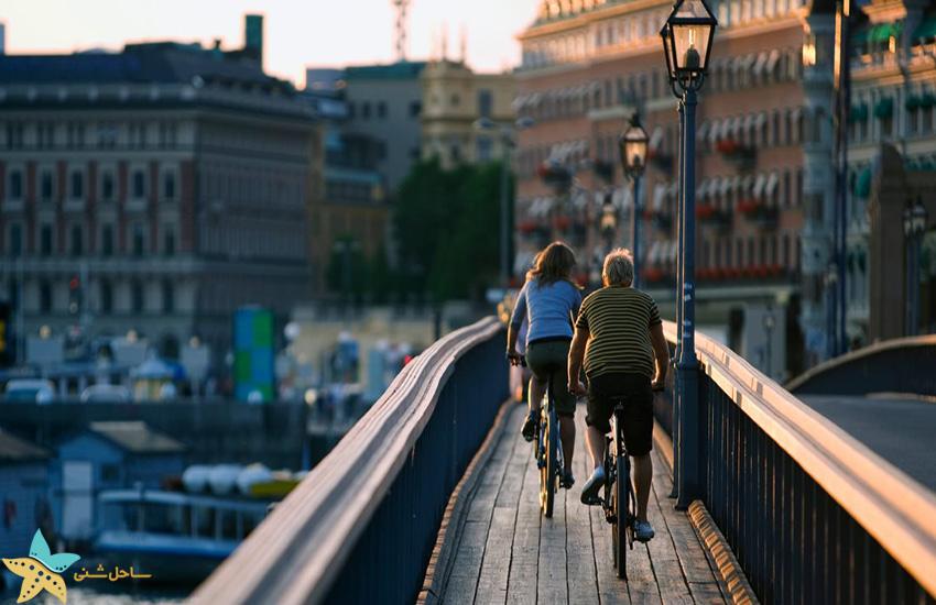تور دوچرخه در استکهلم