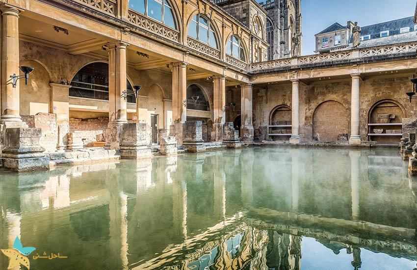 حمام های رومی - جاذبههای گردشگری انگلیس