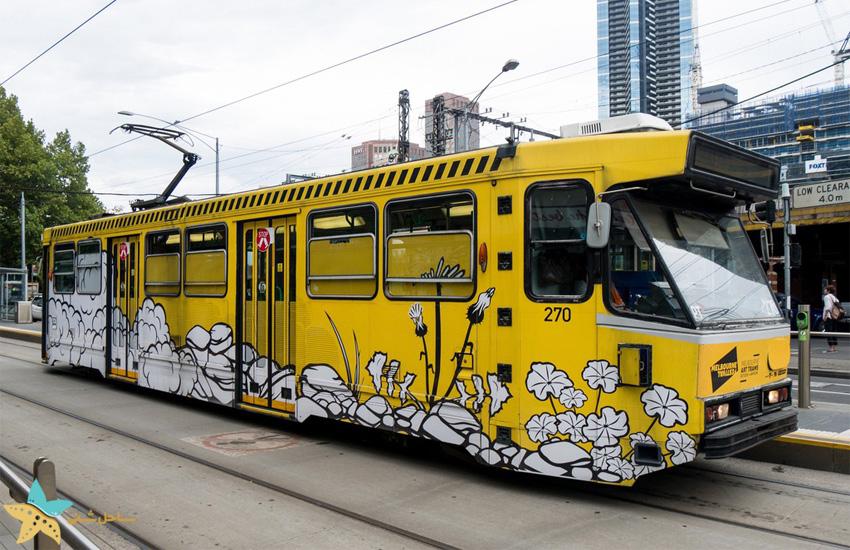 حمل و نقل عمومی در ملبورن استرالیا