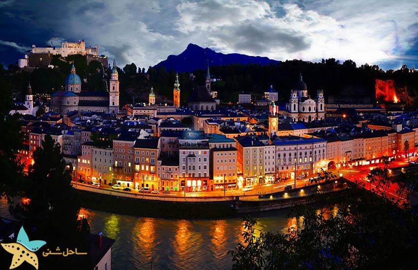 سالزبورگ - جاذبههای گردشگری اتریش