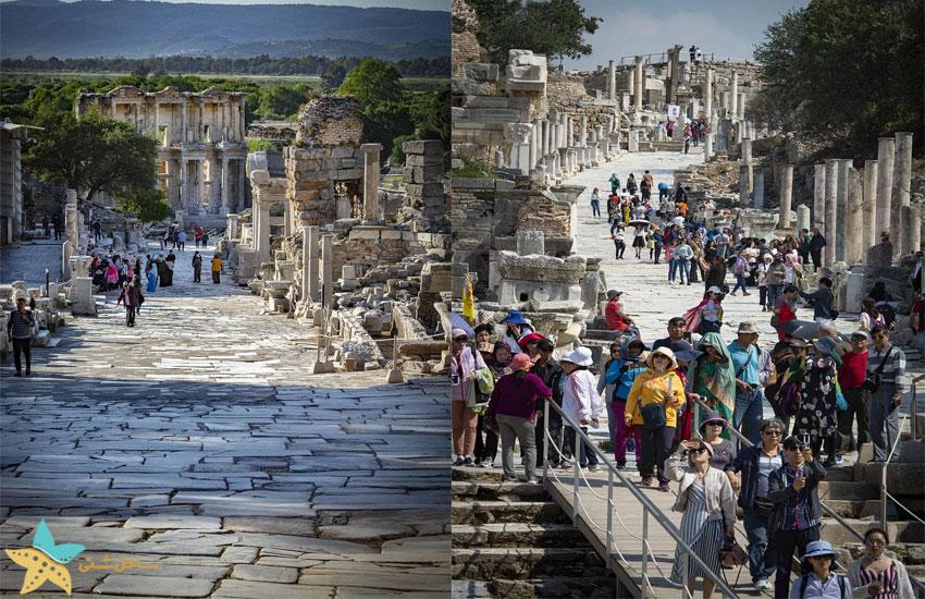 شهر تاریخی افسوس در ترکیه
