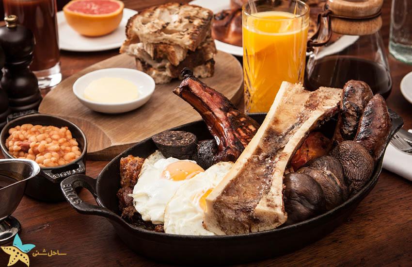 صبحانه انگلیسی - جاذبههای گردشگری بریتانیا