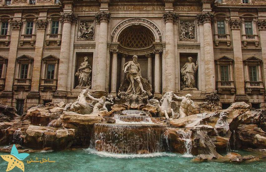 جاذبههای گردشگری ایتالیا - فواره تروی