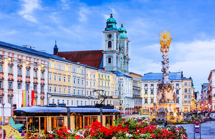 لینتس - جاذبههای گردشگری اتریش