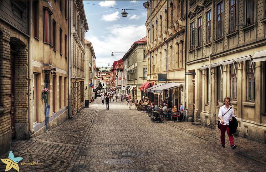 جاذبههای گردشگری سوئد - هاگا