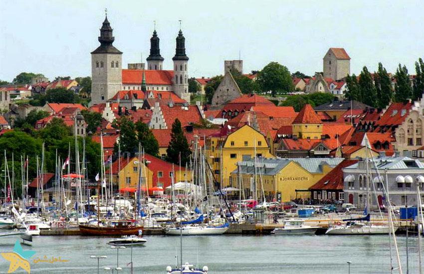 ویسبی - جاذبههای گردشگری سوئد