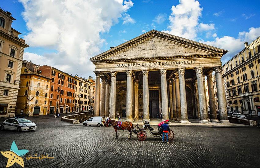 جاذبههای گردشگری ایتالیا - پانتئون