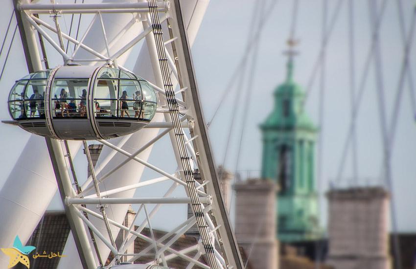جاذبه های گردشگری انگلیس - چشم لندن