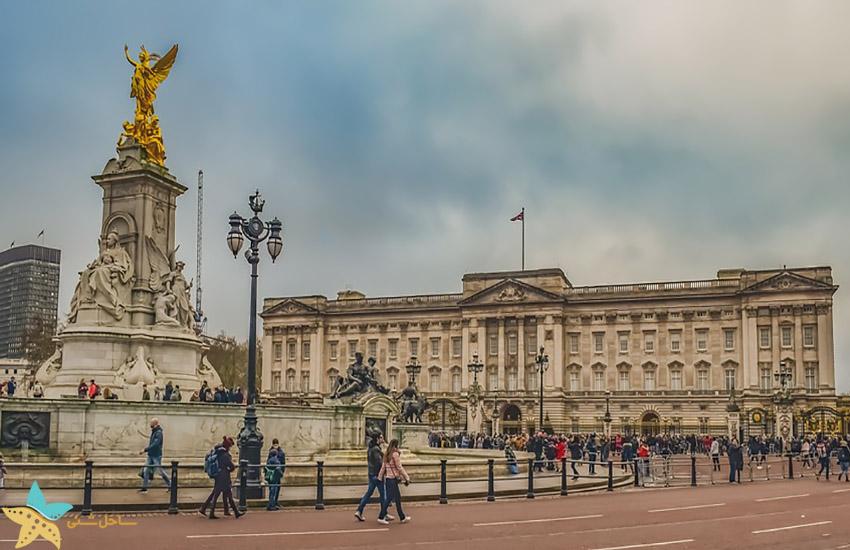 کاخ باکینگهام - جاذبههای گردشگری انگلیس