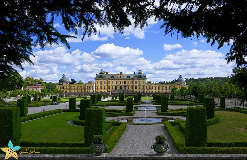 جاذبههای گردشگری سوئد - محل اقامت پادشاه