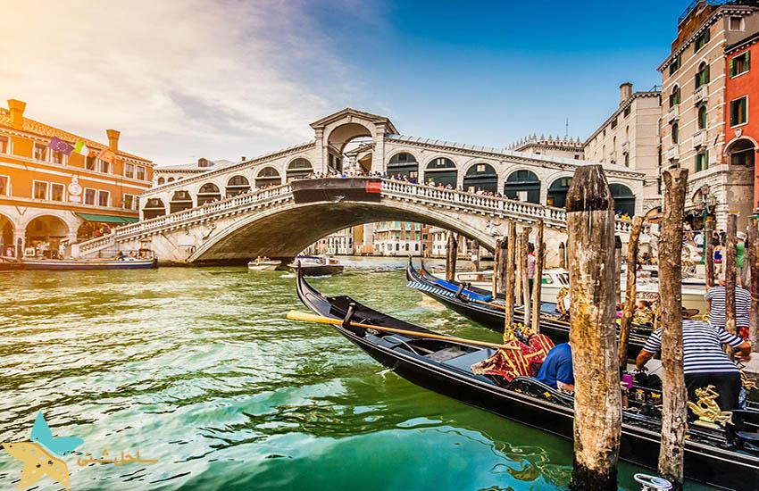 جاذبههای گردشگری ایتالیا - پل ریالتو ونیز