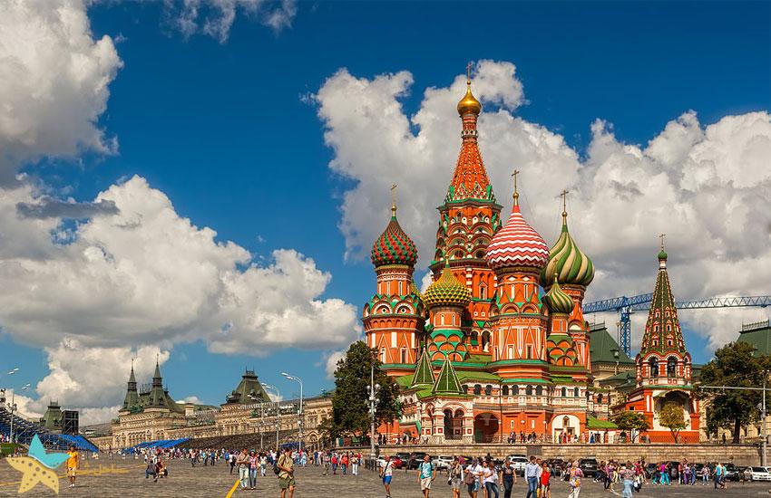 کلیسای سنت باسیل | تور مسکو