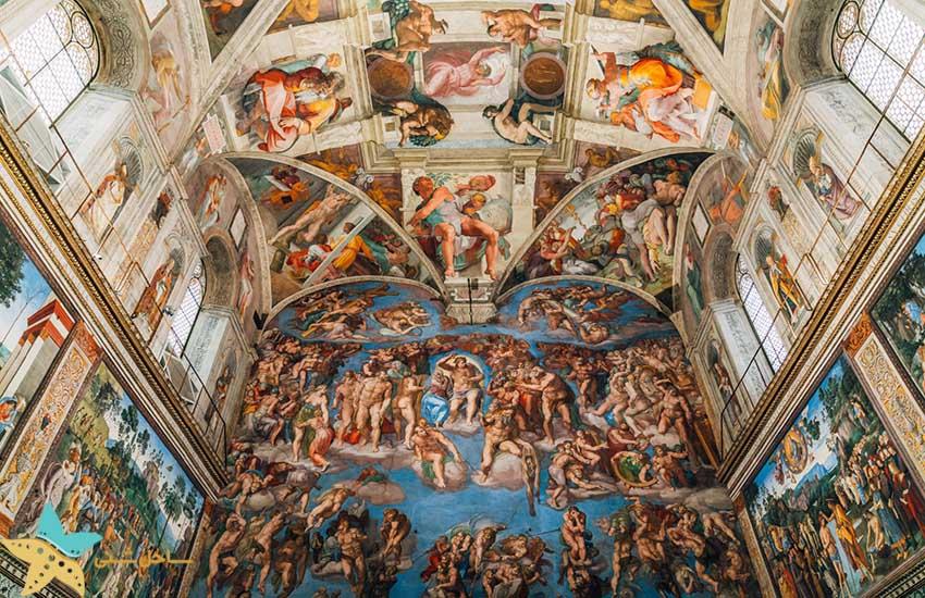 جاذبههای گردشگری ایتالیا کلیسای سیستین