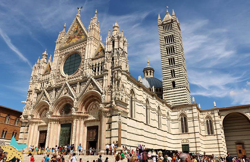 کلیسای جامع سیهنا - جاذبههای گردشگری ایتالیا