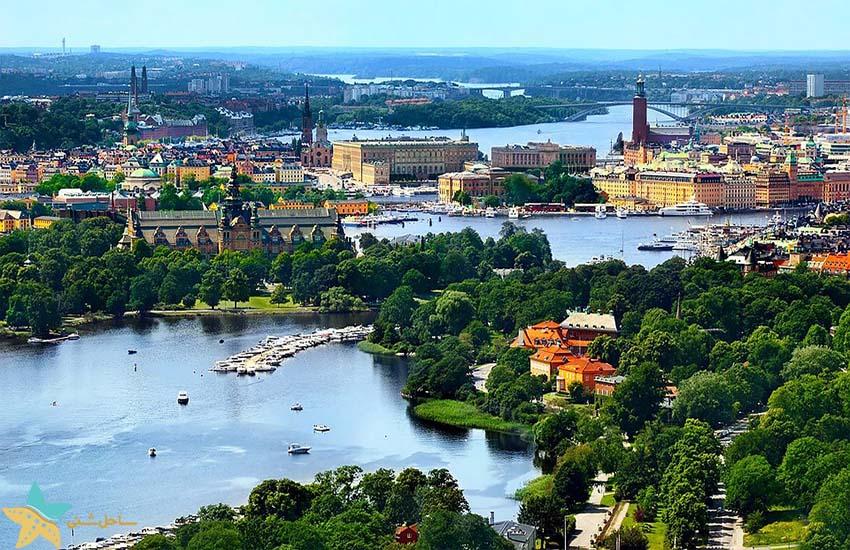 جاذبههای گردشگری سوئد