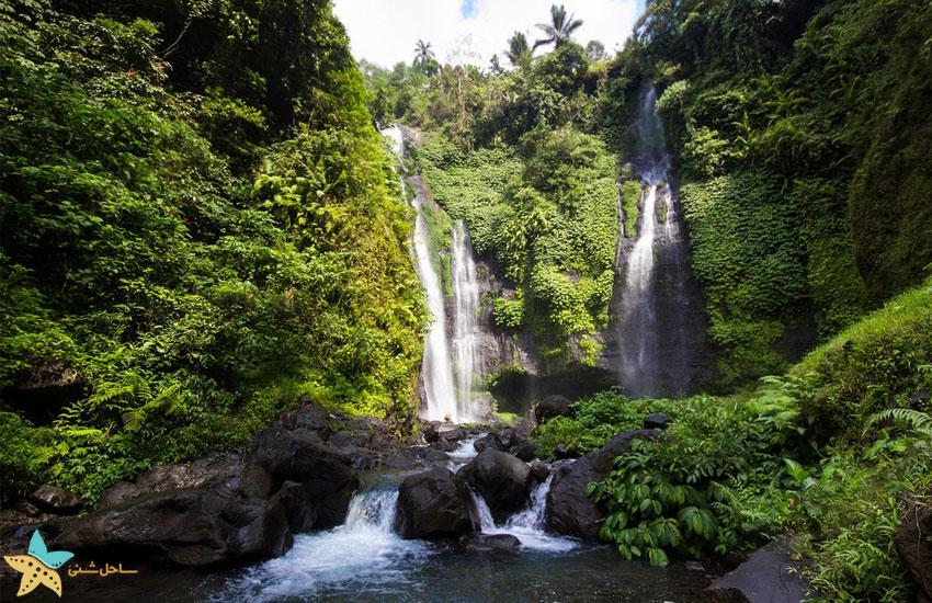 Sukawati waterfall
