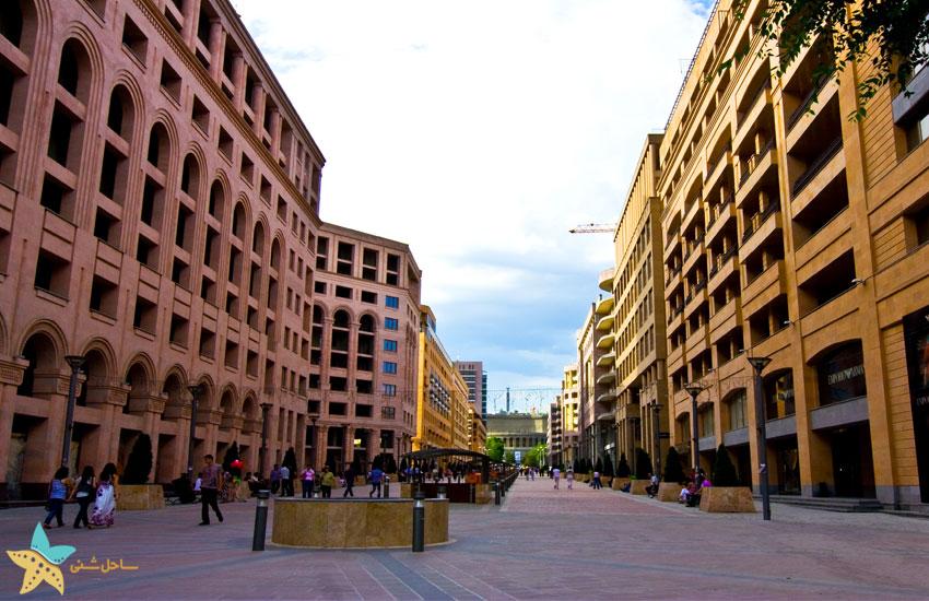 yerevan northern avenue