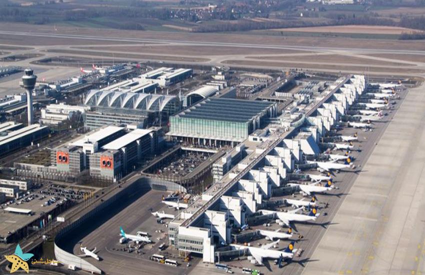 نمایی از فرودگاه مونیخ