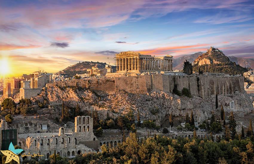 آتن -آکروپلیس - جاذبههای گردشگری یونان