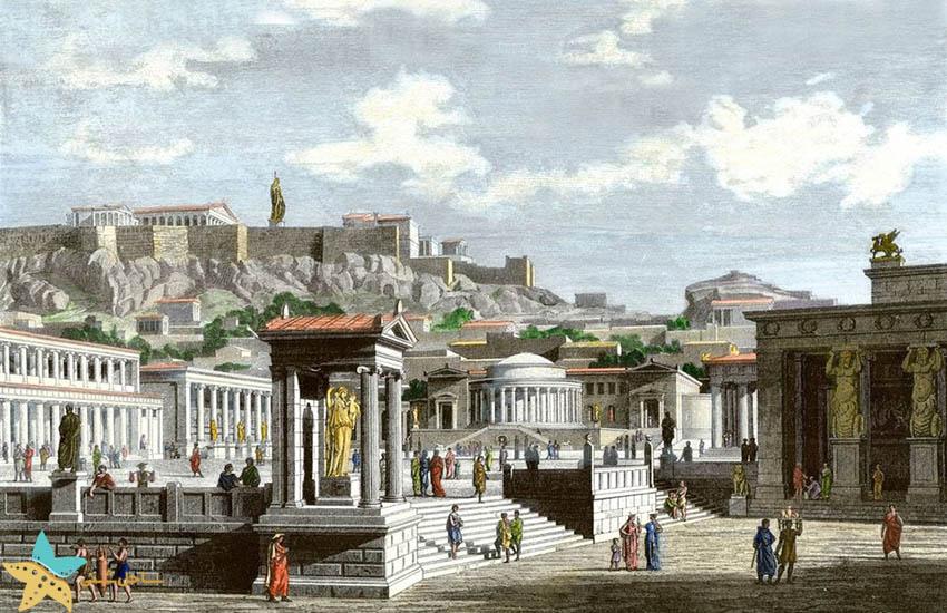 آگورای باستانی آتن - جاذبههای گردشگری یونان