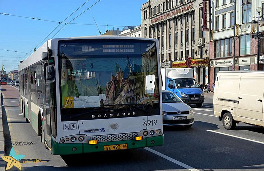 اتوبوسهای سن پترزبورگ