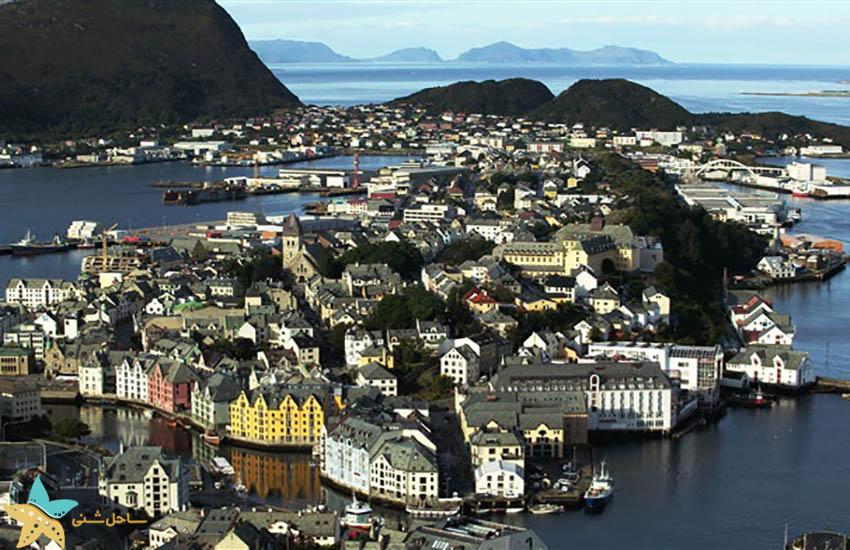 السوند - جاذبههای گردشگری نروژ