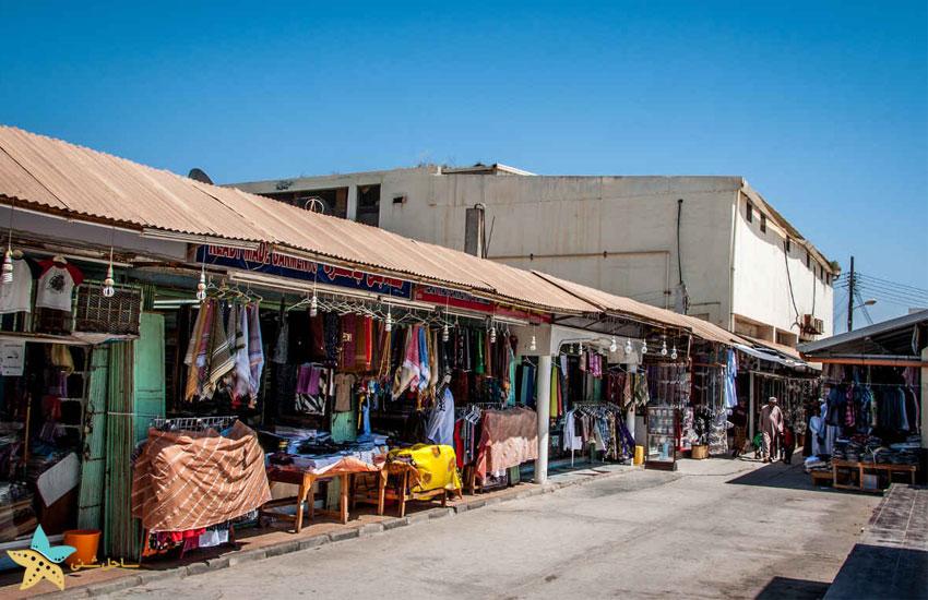 بازار الحافه در شهر صلاله