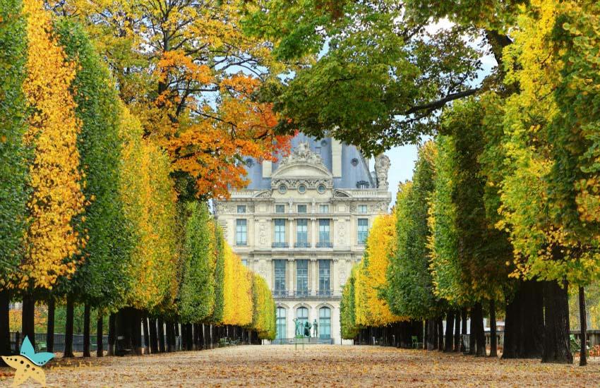 باغهای تویلری - جاذبههای گردشگری فرانسه