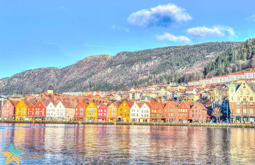 بریگن - برگن - جاذبههای گردشگری نروژ