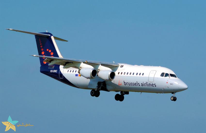 بلیط هواپیما بروکسل