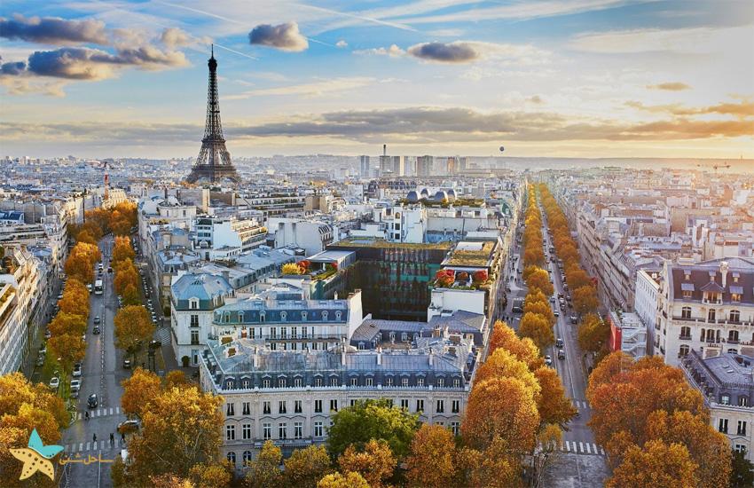 بلیط هواپیما پاریس