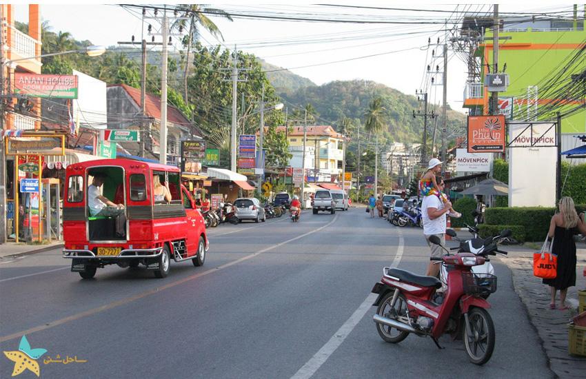 حمل و نقل عمومی در پوکت