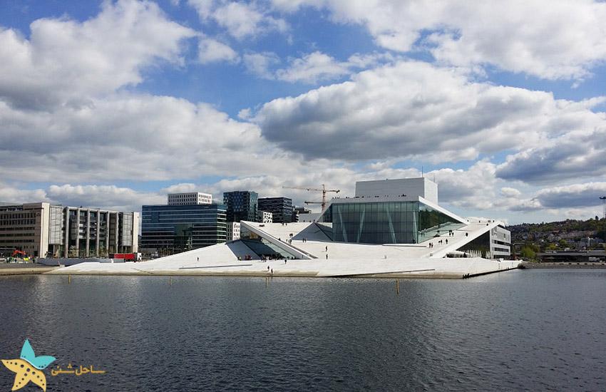 خانه اپرا اوسلو - جاذبههای گردشگری نروژ