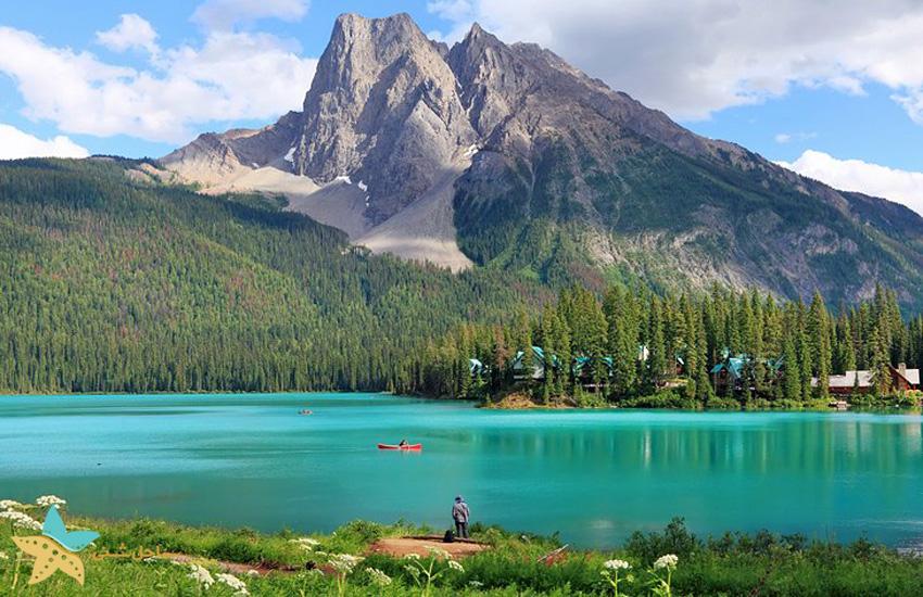 1- دریاچهی امرالد [Emerald Lake]