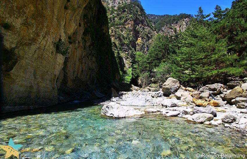 دره ساماریا - جاذبههای گردشگری یونان