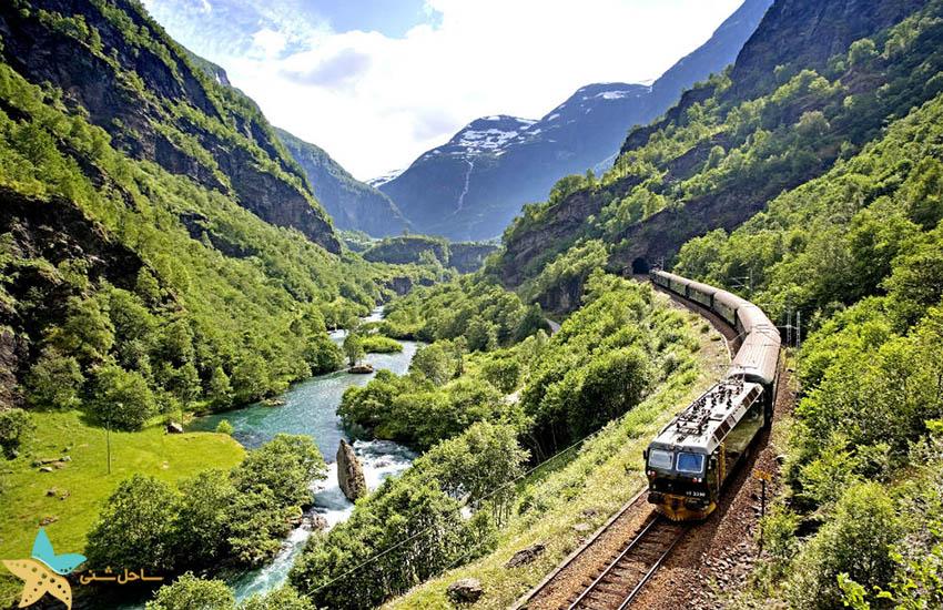 راه آهن فلام - جاذبههای گردشگری نروژ