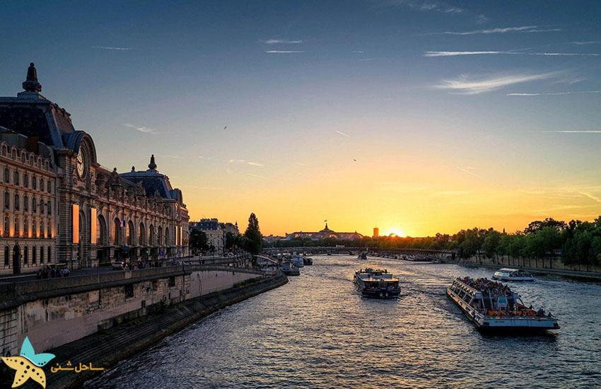 رودخانه سن - جاذبههای گردشگری فرانسه