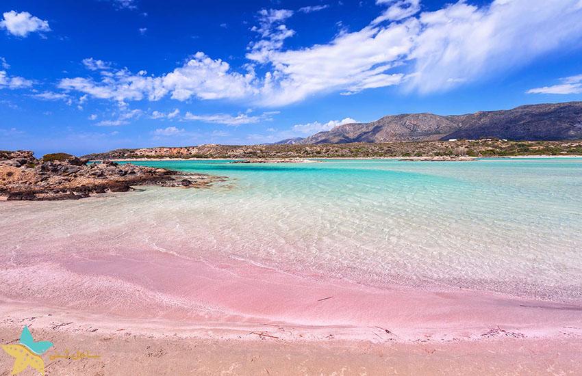 ساحل صورتی - جاذبههای گردشگری یونان
