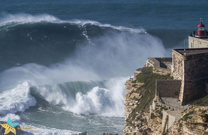 ساحل نازار - جاذبههای گردشگری پرتغال