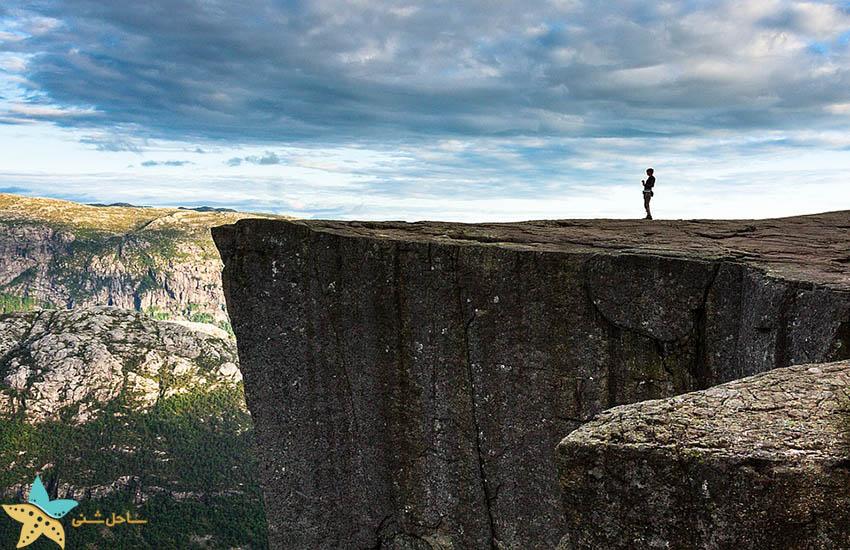 صخره Preikestolen - جاذبههای گردشگری نروژ