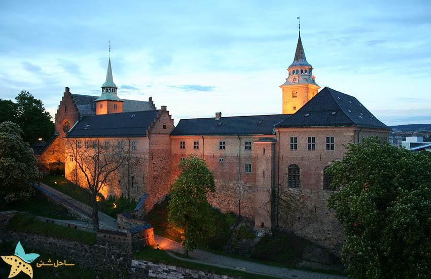 قلعه آکرشوس - جاذبههای گردشگری نروژ