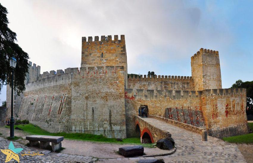 جاذبههای گردشگری پرتغال - قلعه سنت جورج لیسبون