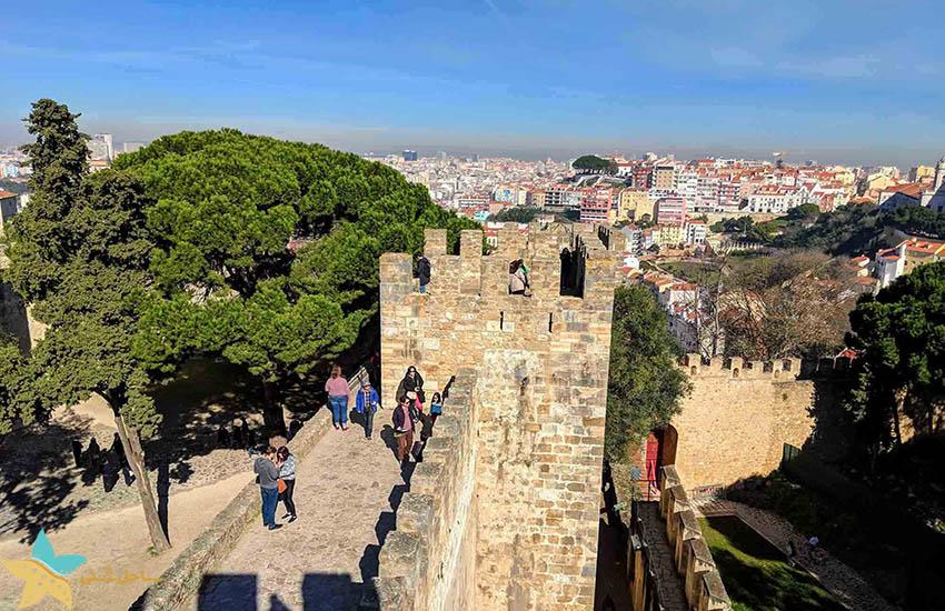 قلعه سنت جورج - جاذبههای گردشگری پرتغال