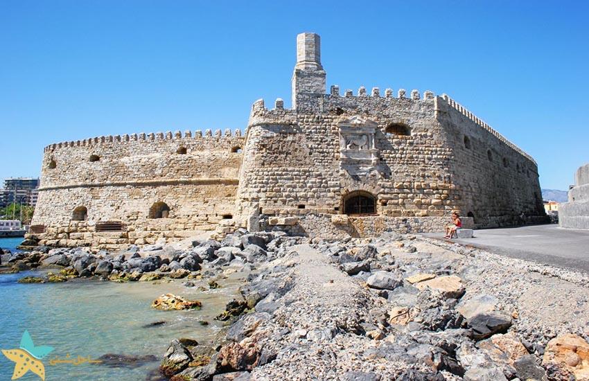 قلعه هراکلیون -هراکلیون - جاذبههای گردشگری یونان