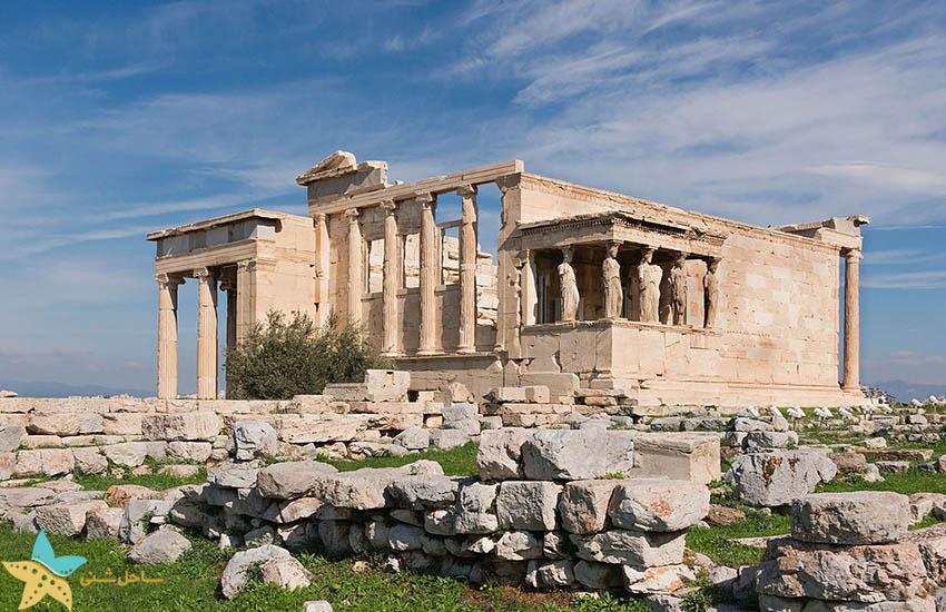 معبد - جاذبههای گردشگری یونان