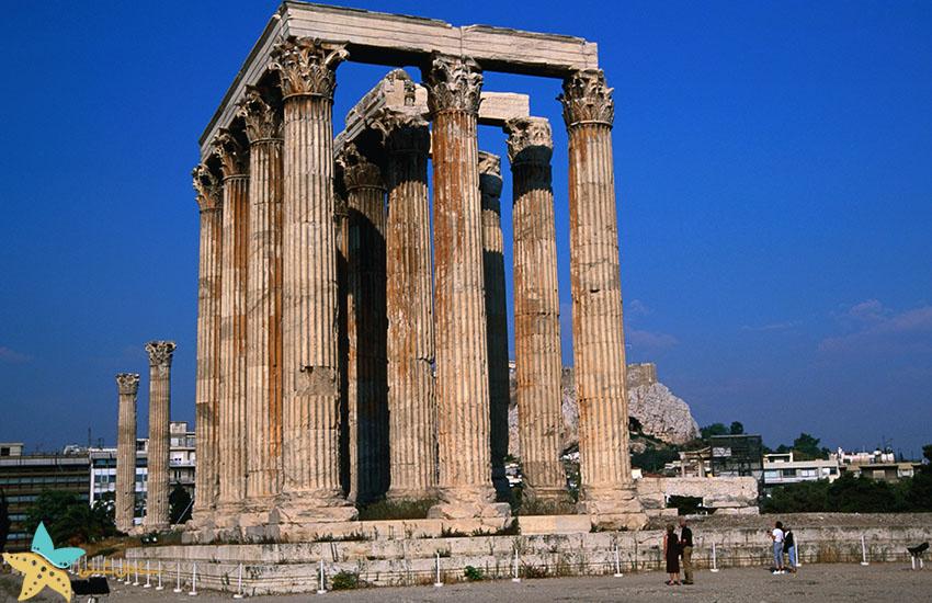 معبد زئوس - جاذبههای گردشگری یونان