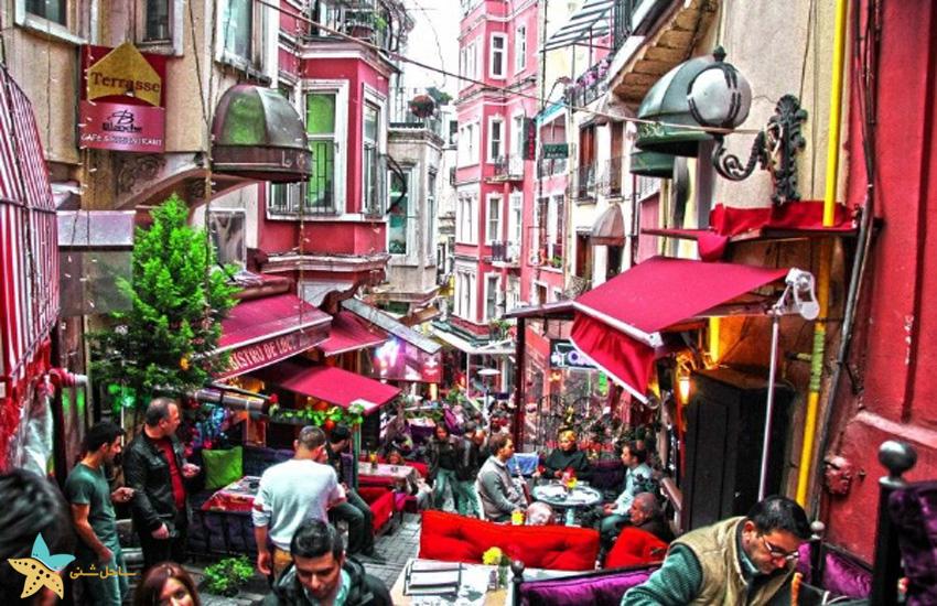 منطقه بی اغلو استانبول