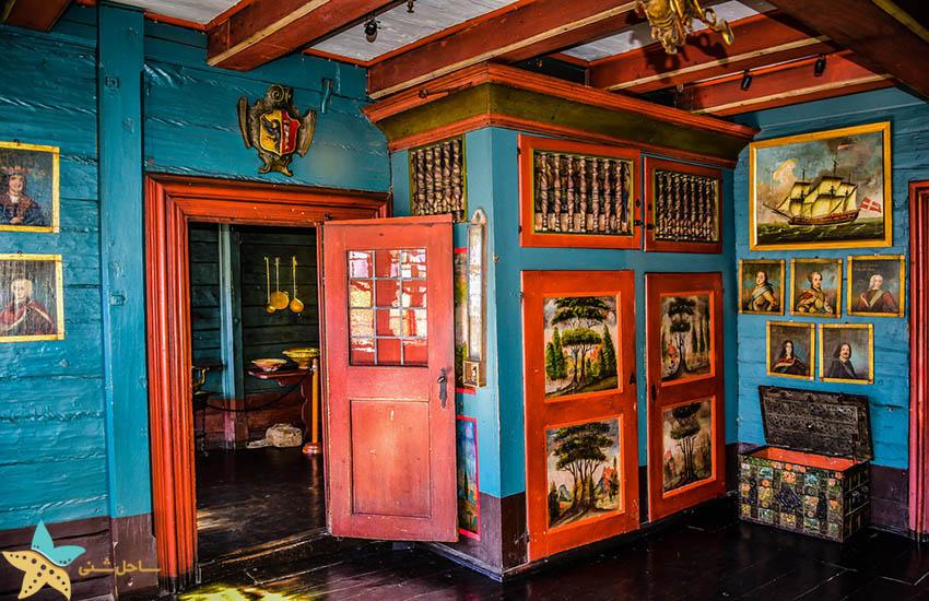 موزه هانزا - نمای درونی